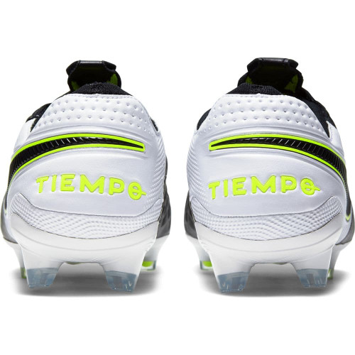 Nike Tiempo Legend 8 Elite Firm Ground Boots - Black/White