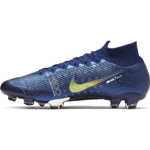 Nike Superfly 7 Elite MDS Firm Ground Boots - Blue/White/Black