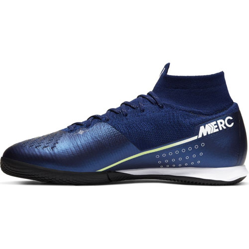 Nike Superfly 7 Elite MDS Indoor Boots - Blue/White/Black