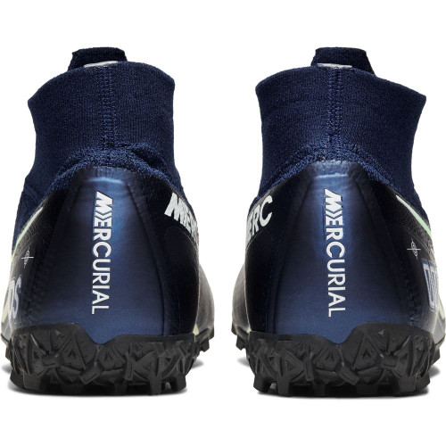 Nike Superfly 7 Elite MDS Artificial Turf Boots - Blue/White/Black