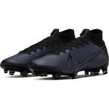 Nike Mercurial Superfly 7 Elite Firm Ground Boots - Black