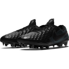 Nike Tiempo Legend 8 Elite Firm Ground Boots - Black/Black