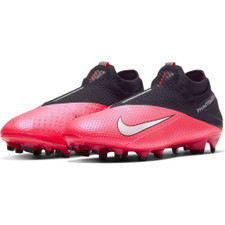Nike Phantom VSN 2 Elite Firm Ground Boots - Red/Silver/Black