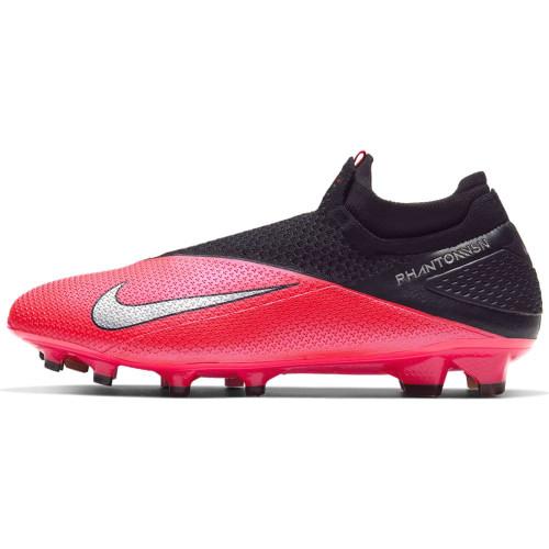 Nike Phantom VSN 2 Elite Firm Ground Boots - Red/Silver/Black