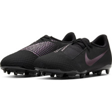 Nike Jr. Phantom Venom Academy Firm Ground Boots - Black/Black