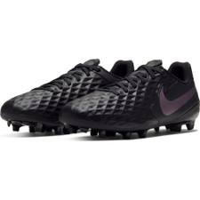Nike Jr. Tiempo Legend 8 Academy Firm Ground Boots - Black