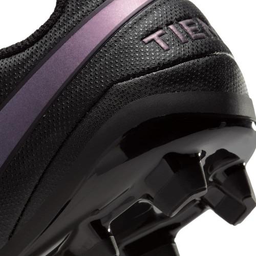 Nike Jr. Tiempo Legend 8 Academy Firm Ground Boots - Black