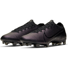 Nike Mercurial Vapor 13 Elite Firm Ground Boots - Black/Black