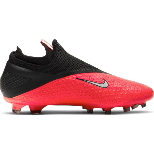 Nike Phantom VSN 2 Pro Firm Ground Boots - Crimson/Silver/Black