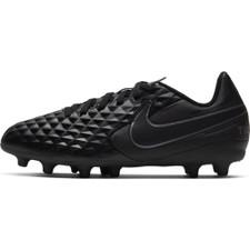 Nike Jr Tiempo Legend 8 Club Firm Ground Boots - Black