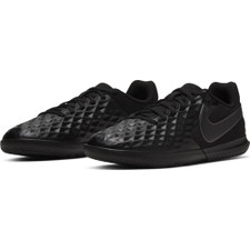 Nike Jr Tiempo Legend 8 Club Indoor Boots - Black