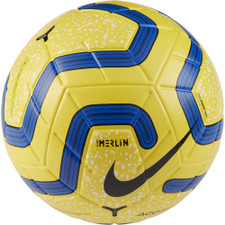 Nike Premier League Merlin Soccer Ball - Yellow/Blue/Black - 5