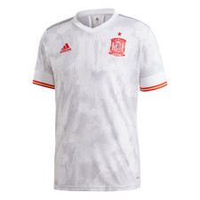20/21 Spain Away Jersey - White