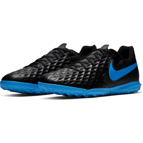 Nike Tiempo Legend 8 Club Artificial Turf Boots Youth - Black/Blue