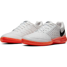 Nike Lunar Gato 2 Indoor Boots - Platinum/Black/Crimson