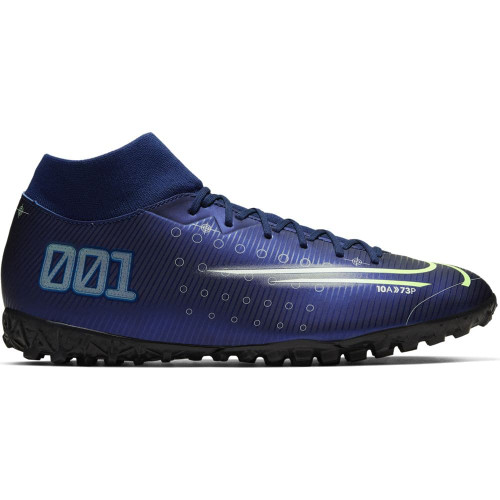 Nike Mercurial Superfly 7 Academy MDS Artificial Turf Boots - Blue/White/Black
