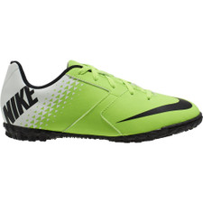 Nike Jr. BombaX (TF) Turf Football Boot-GRN/BLK