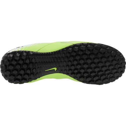 Nike Jr. BombaX (TF) Turf Football Boot-GRN/BLK