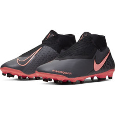 Nike Phantom Vision Academy Dynamic Fit Firm Ground Boots - Grey/Mango