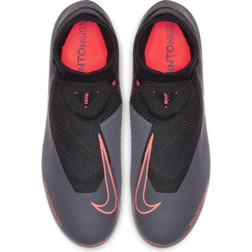 Nike Phantom Vision Academy Dynamic Fit Firm Ground Boots - Grey/Mango