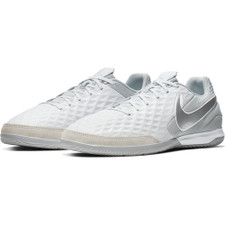 Nike Tiempo Legend 8 Academy Indoor Boots - White/Chrome