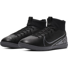 Nike Jr Mercurial Superfly 7 Indoor Boots - Black/Grey