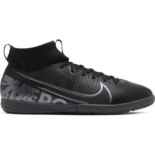 Nike Jr Mercurial Superfly 7 Indoor Boots - Black/Grey