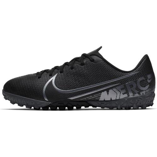 Nike Jr Mercurial Vapor 13 Academy Artificial Turf Boots - Black/Grey
