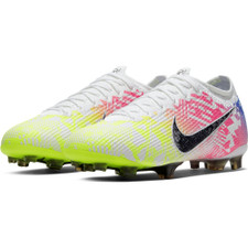 Nike Jr Mercurial Vapor 13 Elite Neymar Firm Ground Boots - White