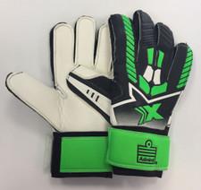 Admiral GEO GK Glove Flat Palm - Black/Flo Green