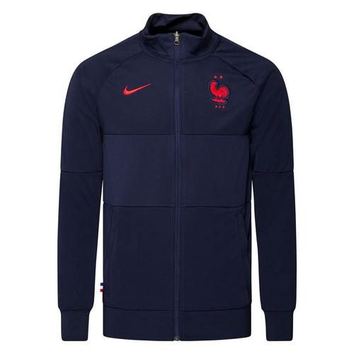 Nike France Anthem Jacket - Black/Blue/Red