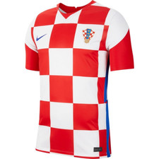 Nike Croatia Branded Stadium Jersey SS Home - White/Red/Blue
