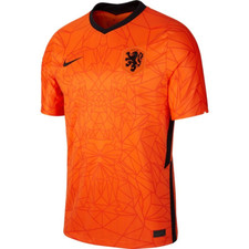 Nike Netherlands Branded Stadium Jersey SS Home - Orange/Black