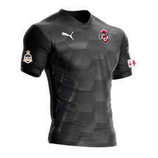 West Ottawa SC Puma Final Match Jersey - Black