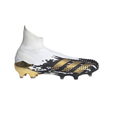 adidas Predator Mutator 20+ Firm Ground Boots - Wht/Blk/Gold