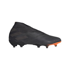 adidas Nemeziz 19+ Firm Ground Boots - Black/Signal Orange