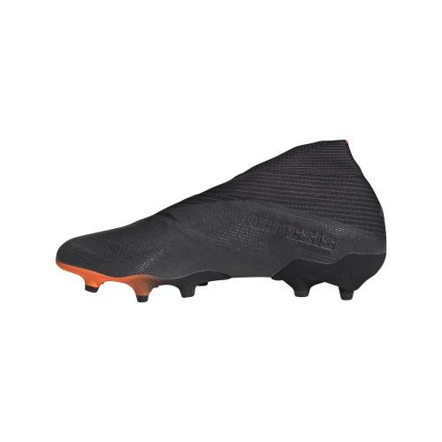 adidas Nemeziz 19+ Firm Ground Boots - Black/Signal Orange