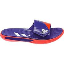 adidas predator sandal - purple/wht