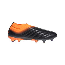adidas Copa 20+ Firm Ground Boots - Core Black/Core Black/Signal Orange