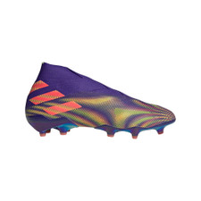 adidas Nemeziz + Firm Ground Boots - Energy Ink/Signal Pink/Signal Green