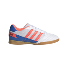 adidas Super Sala Boots Junior - White/Blue/Coral