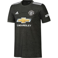 adidas Manchester United 20/21 Away Jersey - Black