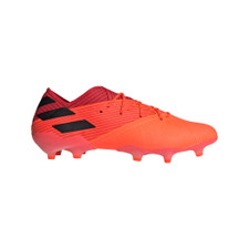 adidas Nemeziz 19.1 Firm Ground Boots - Coral/Blk/Red