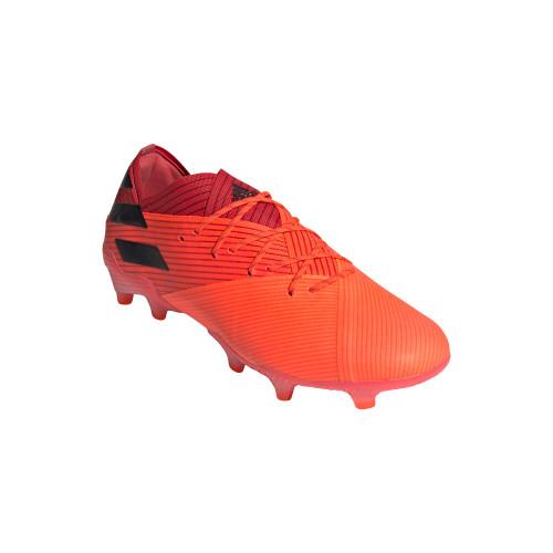 adidas Nemeziz 19.1 Firm Ground Boots - Coral/Blk/Red