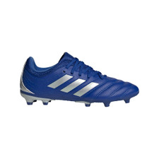 adidas Youth Copa 20.3 Firm Ground Boots - Blue/Silver/Roy Blue