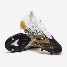adidas Predator Mutator 20.1 L Firm Ground Boots - Wht/Gold/Blk