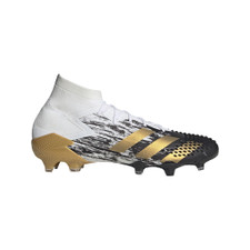 adidas Predator Mutator 20.1 Firm Ground Boots - Wht/Gold/Blk