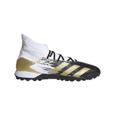 adidas Predator 20.3 Artificial Turf Boots - Wht/Gold/Blk