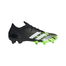 adidas Predator Mutator 20.1 Low Firm Ground Boots - Green/Black/White