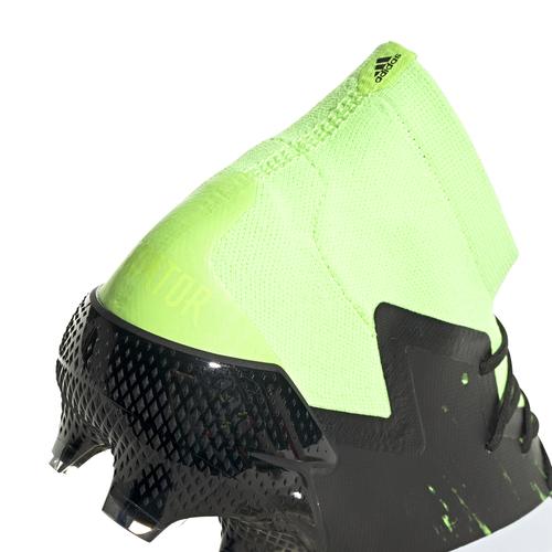 adidas Predator Mutator 20.1 Firm Ground Boots - Grn/Wht/Blk